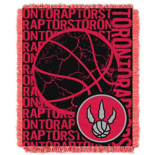 1NBA019040026RET: NBA  JACQUARD THROW, Raptors